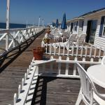 Private Deck and Ocean Views from Crystal Pier Cottage
