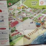mapa de todo el hotel te lo dan  a map  of  all the  complex they give you at entrance