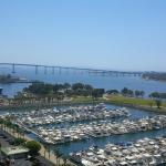 View of the Marina from my hotel room