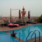 Very Early morning at the pool