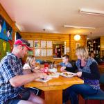 YHA Mt Cook dining room