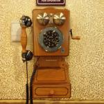 one of them thar fancy telephony machines in the lobby