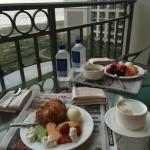 Concierge lounge view.  Amazing breakfast. Amazing food  and serviceall day long.