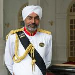 The famous Sikh doorman