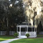 Beautiful grounds and gazebo.