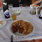 Our favorite meal by Dimitris, beef in Greek pasta