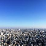 Tokyo Sky Tree view from guest room