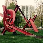 Within walking distance to some great sculptures!