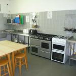 New Range Cooker in Self Catering Kitchen