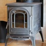 Wood stove for a cozy, romantic feel