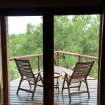 Shishangeni Lodge  - balcony in my room