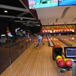bowling alley for extra chg