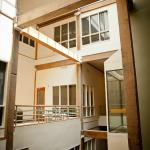 We have a large atrium with elevator and lots of natural light.