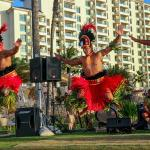 Fia Fia Luau Tribal Dance at Ko'Olina Beach Club Resort