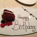 My Birthday Cake,courtesy of The Restaurant Staff..How about that !