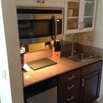 Fresh redo of the kitchenette area