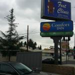 Foto di Comfort Inn - Los Angeles / West Sunset Blvd.