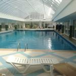 indoor pool at 9am