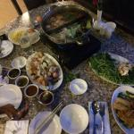 Steamboat dinner for two
