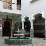 Riad during the day