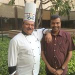With Chef Gulam Qureshi