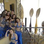 Dance Group Photo Session in the Hotel