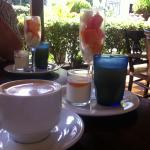 Breakfast included every morning! Coffee, fruit, juice and yogurt included with your meal..Was e