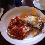 Huevos Ranchero...Very good!