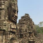 Faces at the Bayon