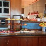 The Fruit side of the buffet