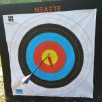 Hit the target and win a prize