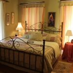 Rose Room welcomes you with a king bed