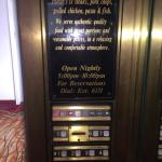 Elevator control panel, very dated looking and feeling, in the elevator. Rest of hotel seems to