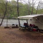 French Broad River Campground Foto