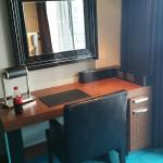 Work area in room