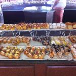 Pastries at breakfast