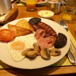 Full breakfast at the Passfoot B&B.