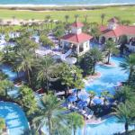 Lazy River, water slide, 2 family pools, 2 adult-only pools, bar/restaurant, impeccable service.
