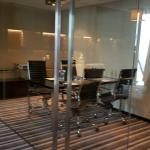 The club lounge on the 11th floor