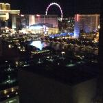 View from the room , bit blurred