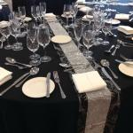 tables, done by Ali at Party Essence, Church House, Radciffe