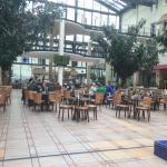 Cafe and bar in the atrium