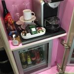 Minibar & Nespresso machine