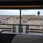 View of the runways from the room