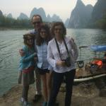 Richard Lee guided tour of the Li River.