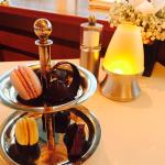 The complimentary sweets