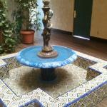Beautiful indoor water fountain