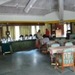 dinning hall nice and clean