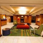 A comfortable lobby and gathering area for our hotel guests