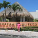 me at the front of laguna suites